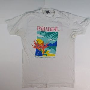 Vintage PC Graphics Shirt Paradise 80s Small